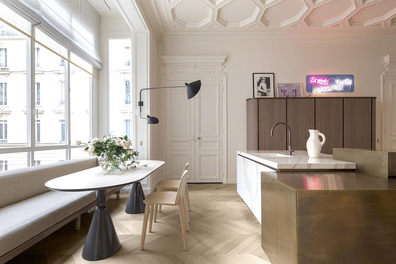 Oscarono Architect - Collection Classics - Finish Naturel - Project Trocadero - Rodolphe Parente