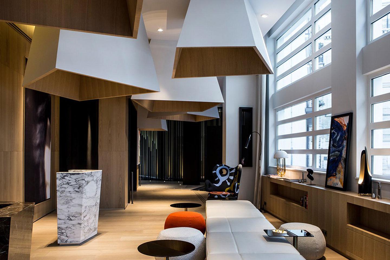 Oscarono Architecture – Collection Classics – Finish Miel Doux – Project Hotel Le Cinq Codet