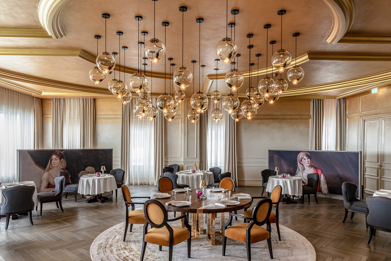 Oscarono Bogoak - Collection Classics - Finish Brun Marais - Project Hotel Le Royal Champagne