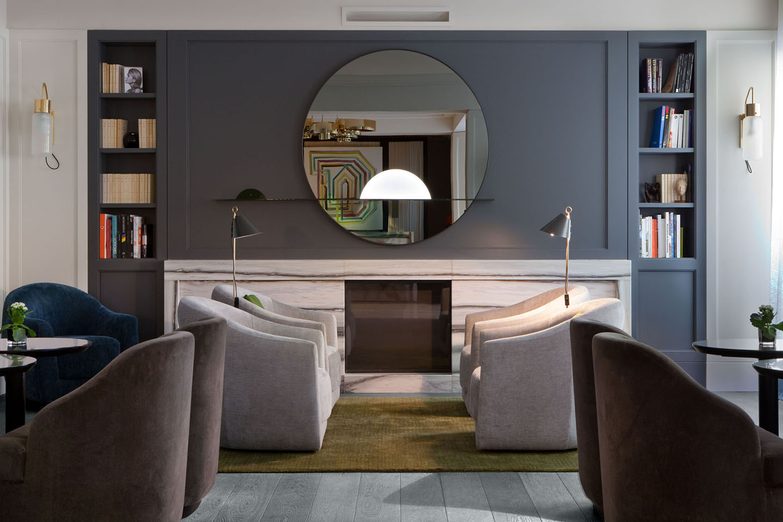 Oscarono Hotel - Collection Classics - Finish Rocher Bleu-Gris - Project Le Marianne - Charles Zana