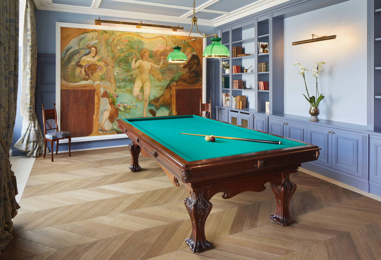 Oscarono Parquet - Collection Classics - Finish Brun Doux - Project Hotel Maison Belle Epoque
