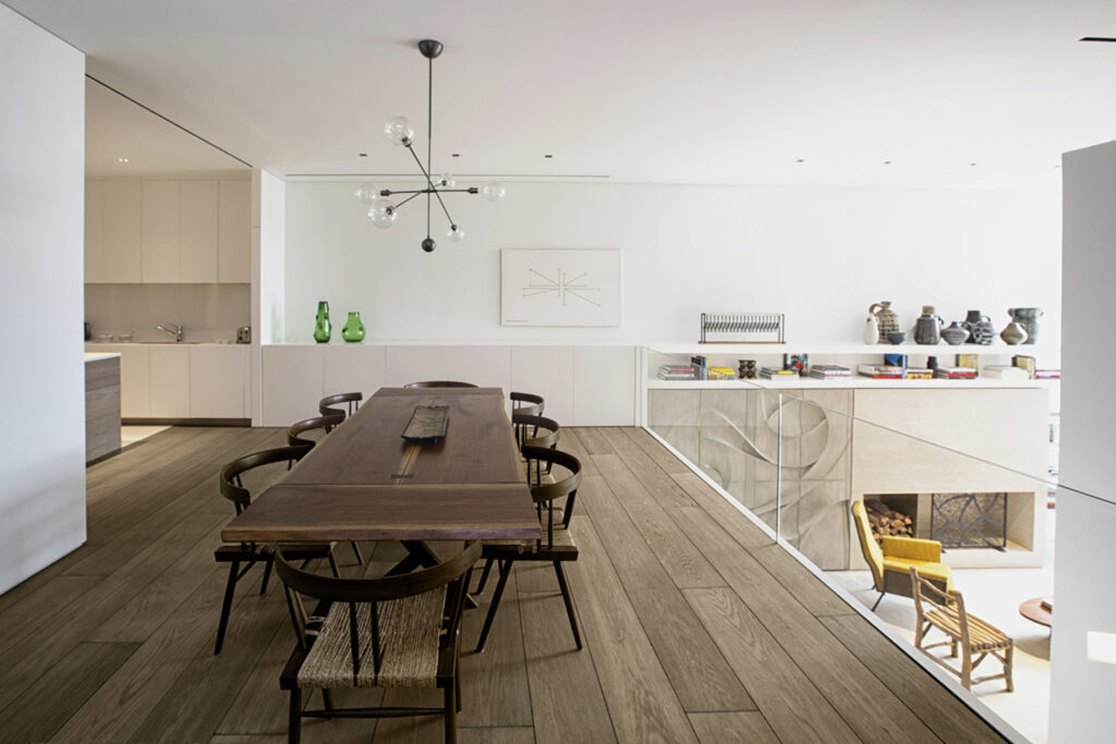 Oscarono Parquet - Collection Classics - Finish Rocher Brun - Project Private Townhouse - Architect Arthur Casas