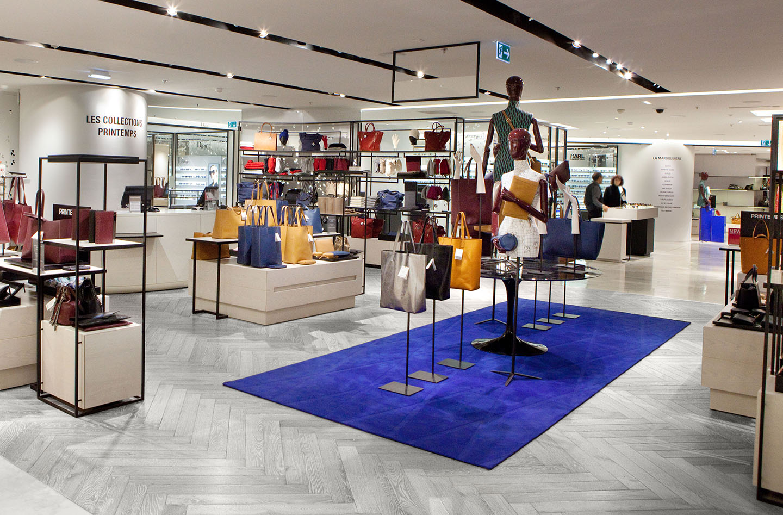 Oscarono Retail - Collection Classics - Finish Rocher-Blanc - Project Le Printemps Paris