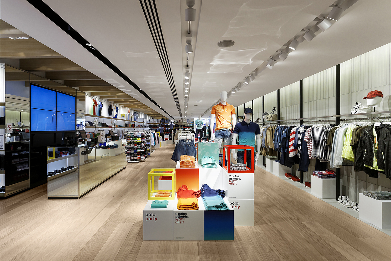 Oscarono Retaildesign - Collection Classics - Finish Miel Doux - Project Celio - Paris