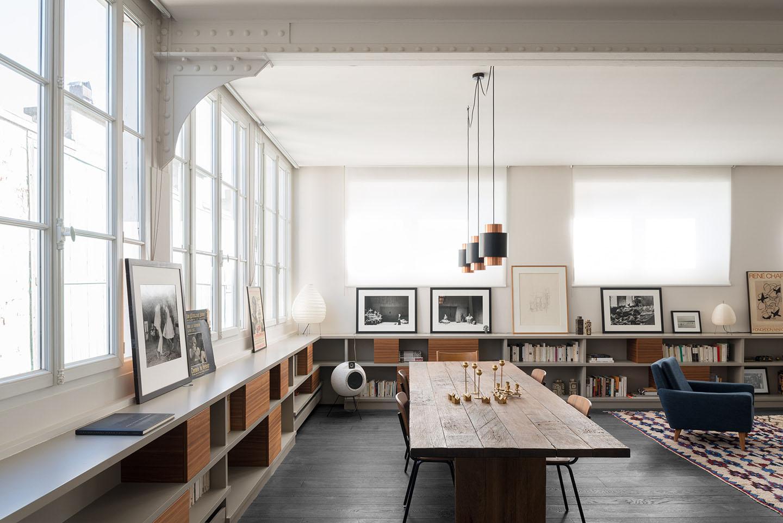 Oscarono Shou Sugi Ban - Collection Classics - Finish Rocher Noir - Project Private Appartment – Designer Annie Pate Amelie Saule