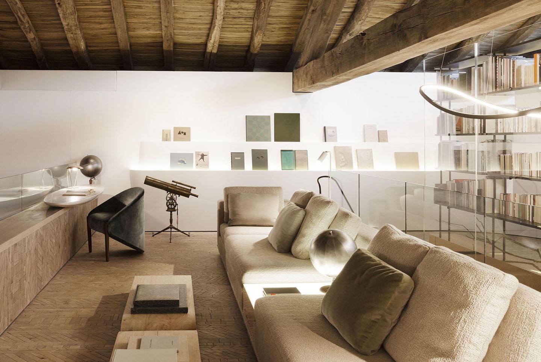 Oscarono Endgrain - Collection Foret - Hotel Domaine Des Etangs - Raphael Navot